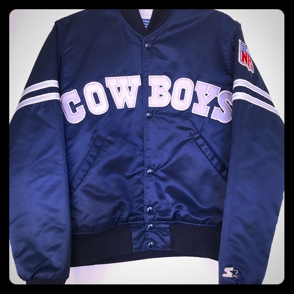 online store b56a6 a4dae Rare Vintage 1980's Dallas Cowboys Starter Jacket!